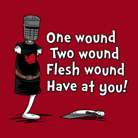 One Wound Two Wound Holy Grail Dr Suess
