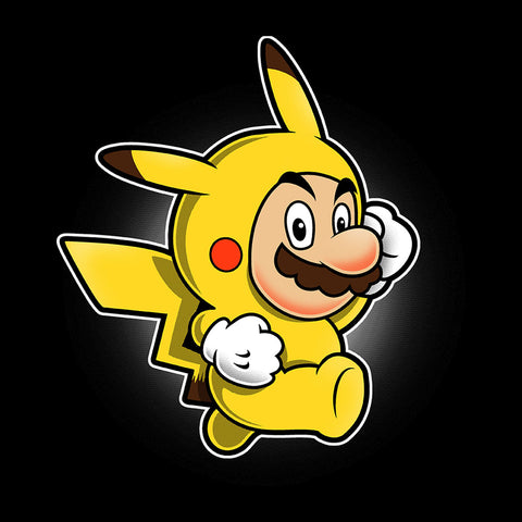 Pika Suit Super Mario Pikachu Pokemon