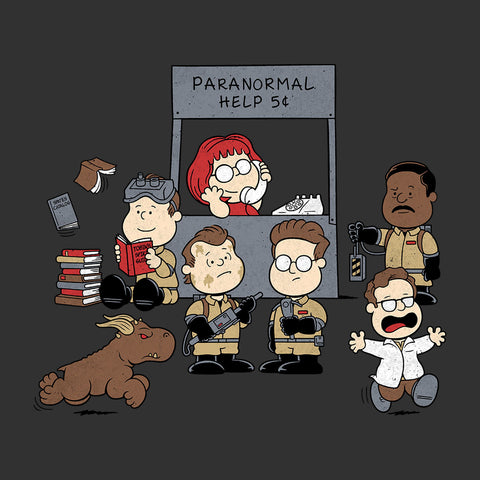 Paranormal Help Ghostbusters Peanuts