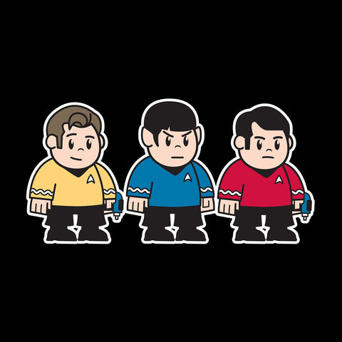 Mitesized Trekkies Star Trek