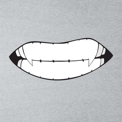 Japanese Manga Vampire Teeth Baring