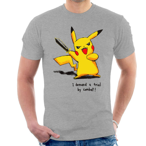 Pikachu Trial by Combat Game Of Thrones Pokemon