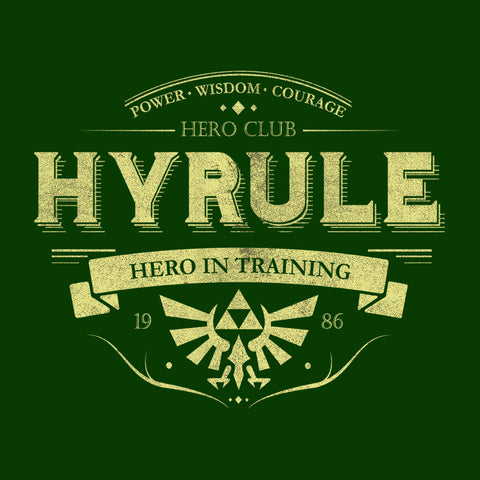 Legend Of Zelda Hyrule Hero Club