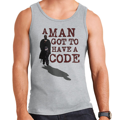 A Man Got To Have A Code Omar The Wire Men's Vest