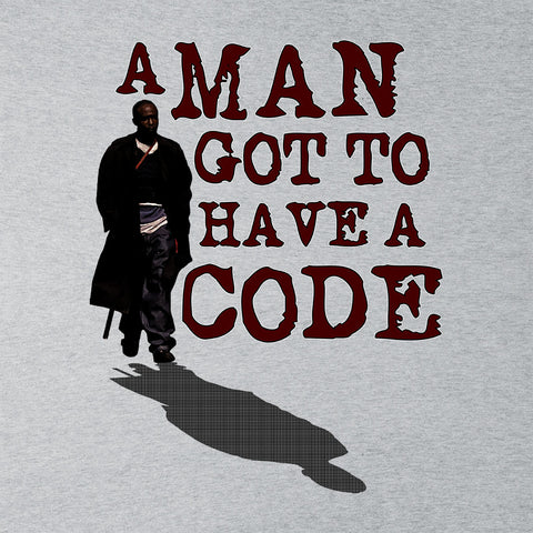 A Man Got To Have A Code Omar The Wire