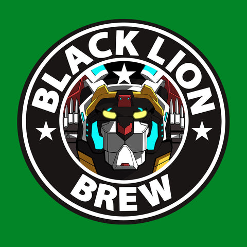 Voltron Black Lion Brew Coffee