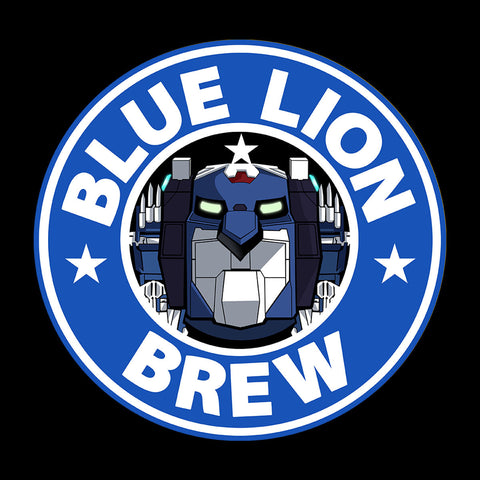 Voltron Blue Lion Brew Coffee
