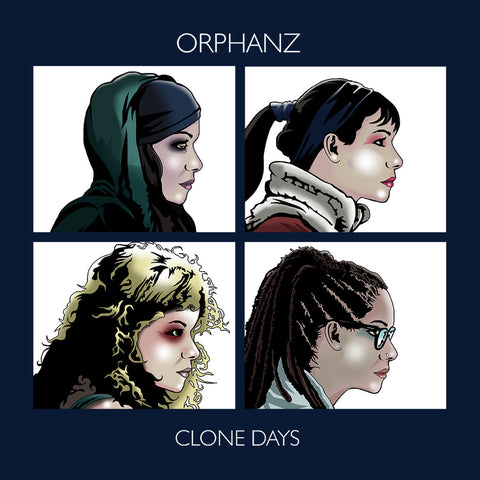 Orphan Black Gorillaz Orphanz Clone Days
