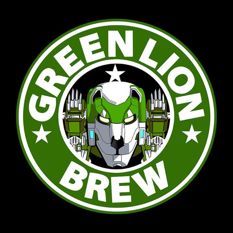 Voltron Green Lion Brew Coffee