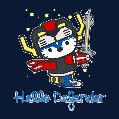 Voltron Hello Kitty Black Lion Defender