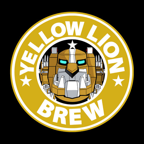 Voltron Yellow Lion Brew Coffee