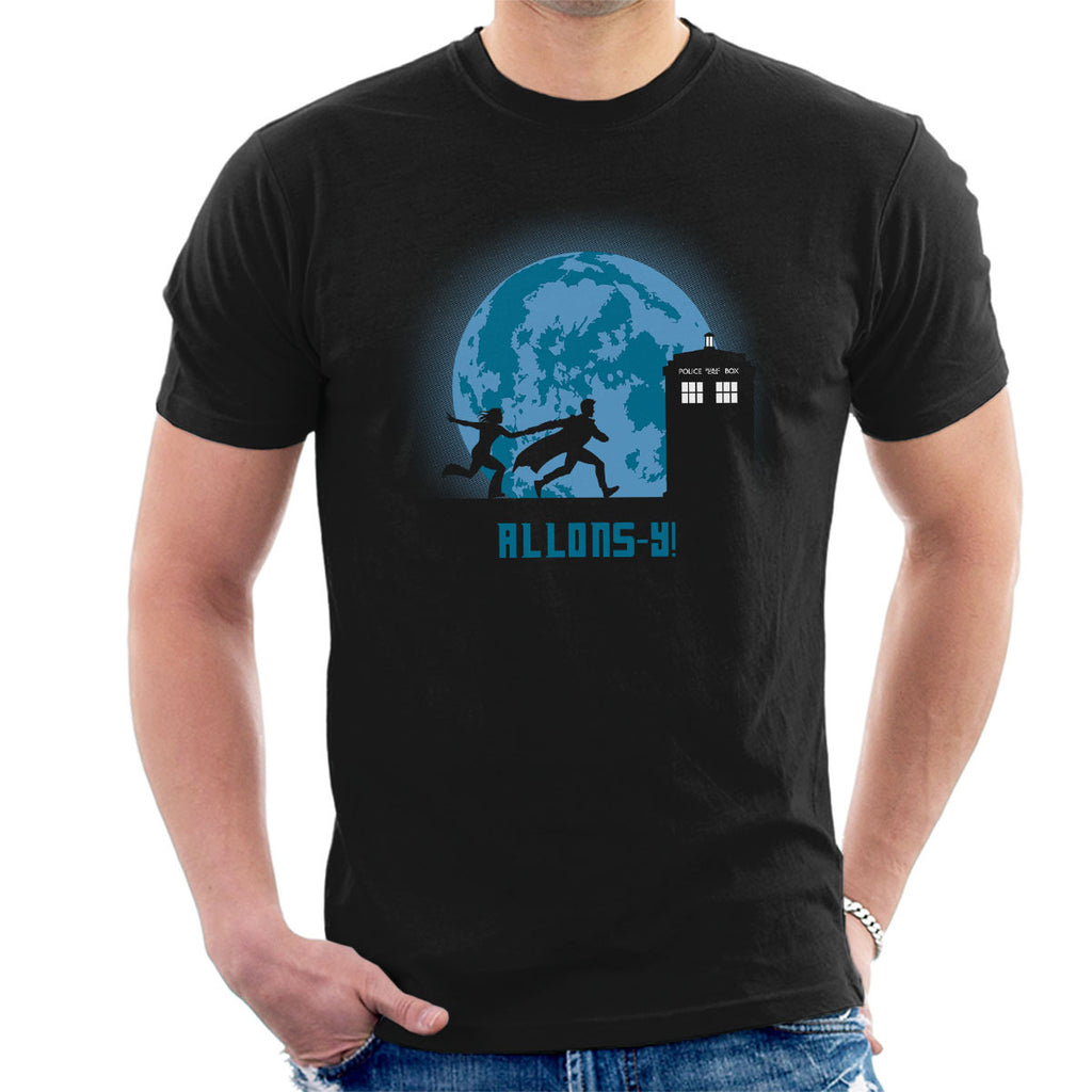 Doctor Who Allons Y Lets Go Men's T-Shirt
