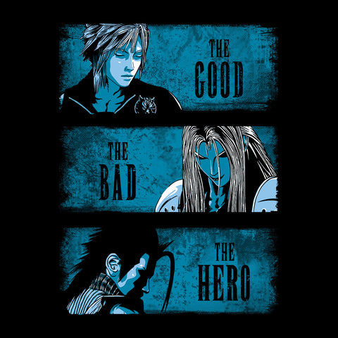 Final Fantasy The Good The Bad And The Hero