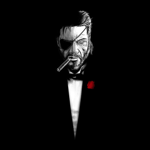 Metal Gear Solid The Bossfather The Godfather