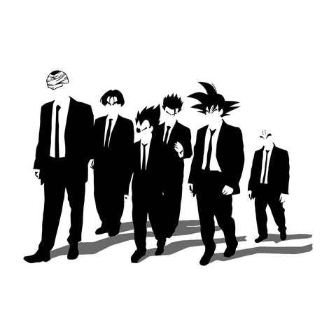 Dragon Ball Z Dogs Inspired By Reservoir Dogs
