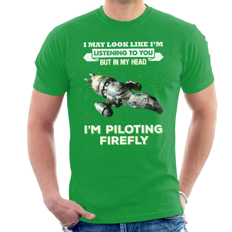I May Look Like Firefly Serenity Men's T-Shirt by Pheasant Omelette - Cloud City 7
