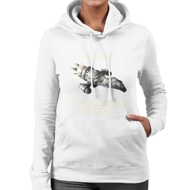 I May Look Like Firefly Serenity Women's Hooded Sweatshirt by Pheasant Omelette - Cloud City 7