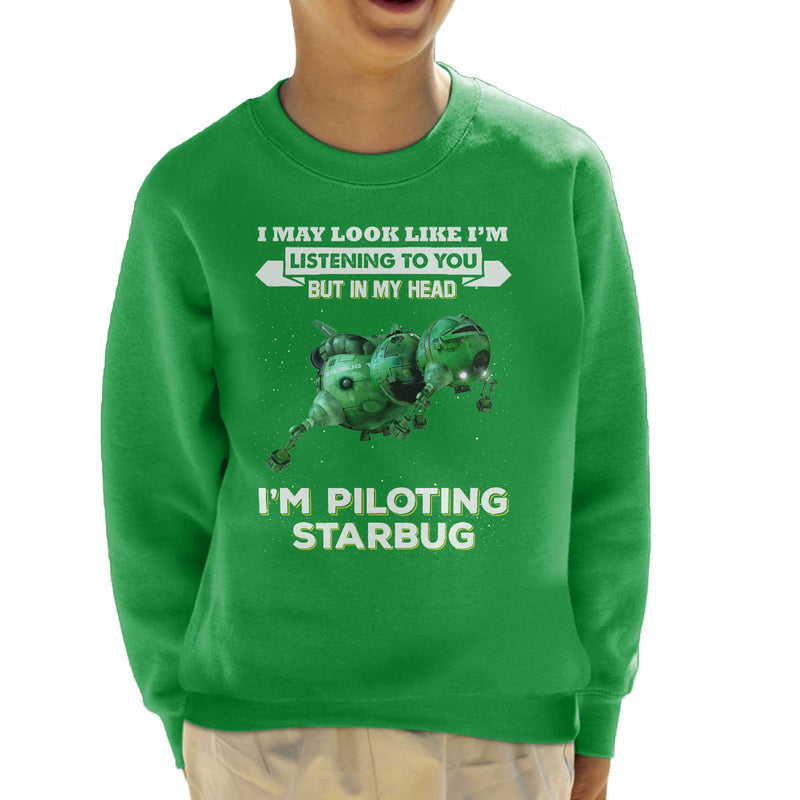 I May Look Like Starbug Red Dwarf Kid's Sweatshirt by Pheasant Omelette - Cloud City 7