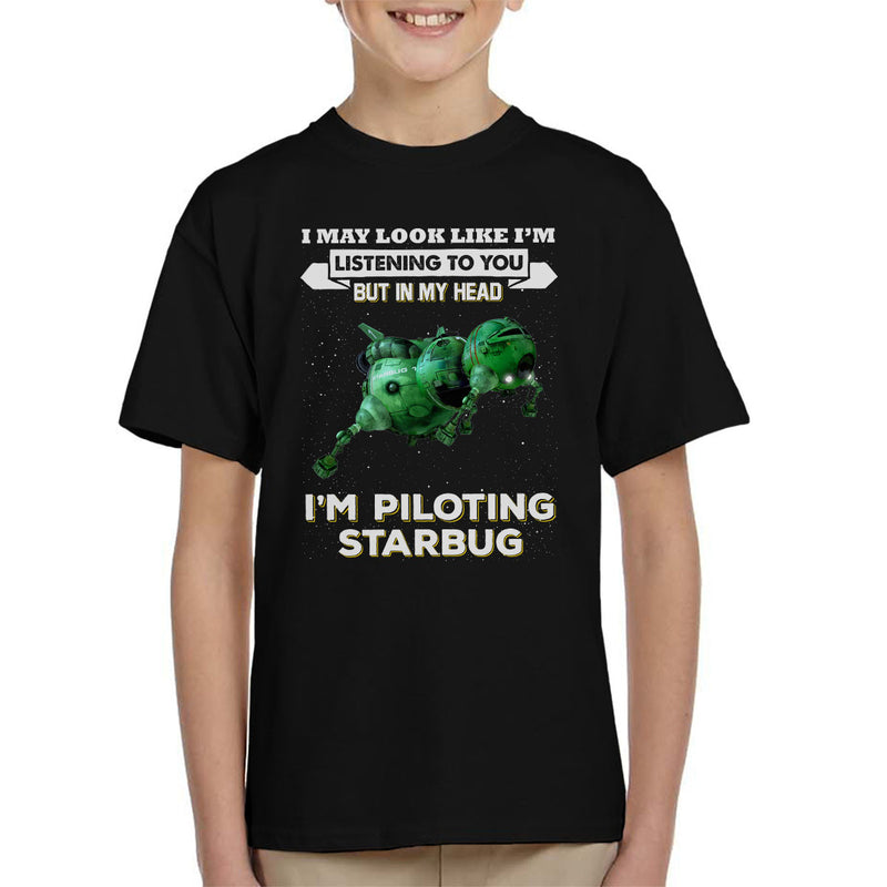 I May Look Like Starbug Red Dwarf Kid's T-Shirt