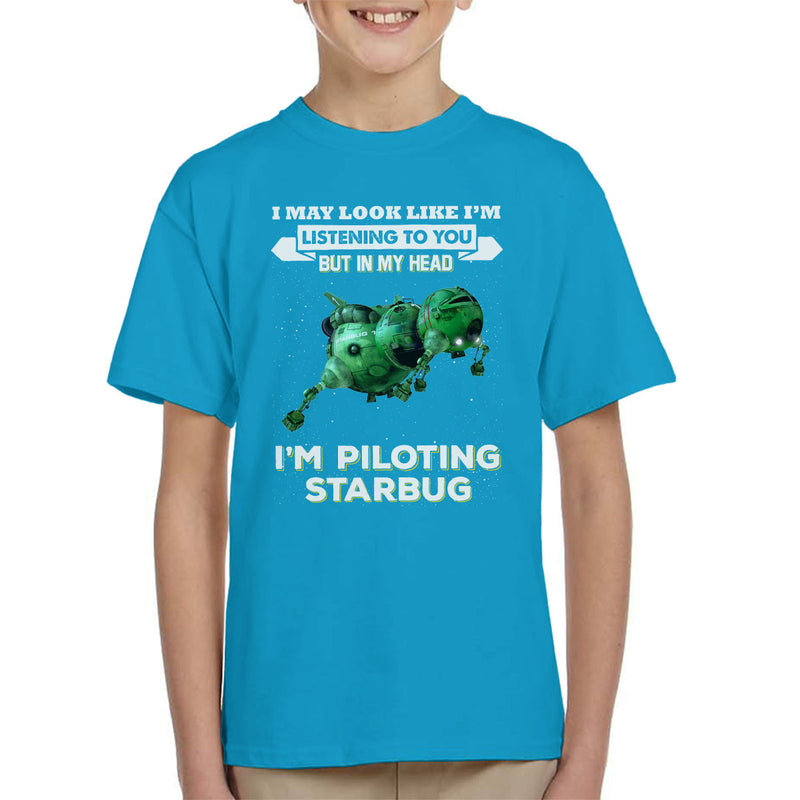 I May Look Like Starbug Red Dwarf Kid's T-Shirt by Pheasant Omelette - Cloud City 7
