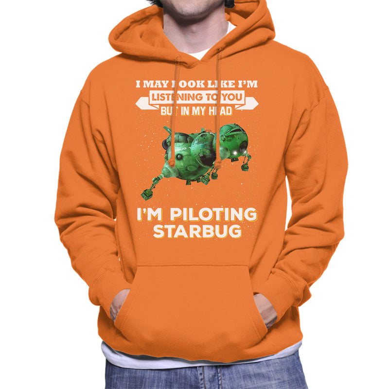 I May Look Like Starbug Red Dwarf Men's Hooded Sweatshirt by Pheasant Omelette - Cloud City 7