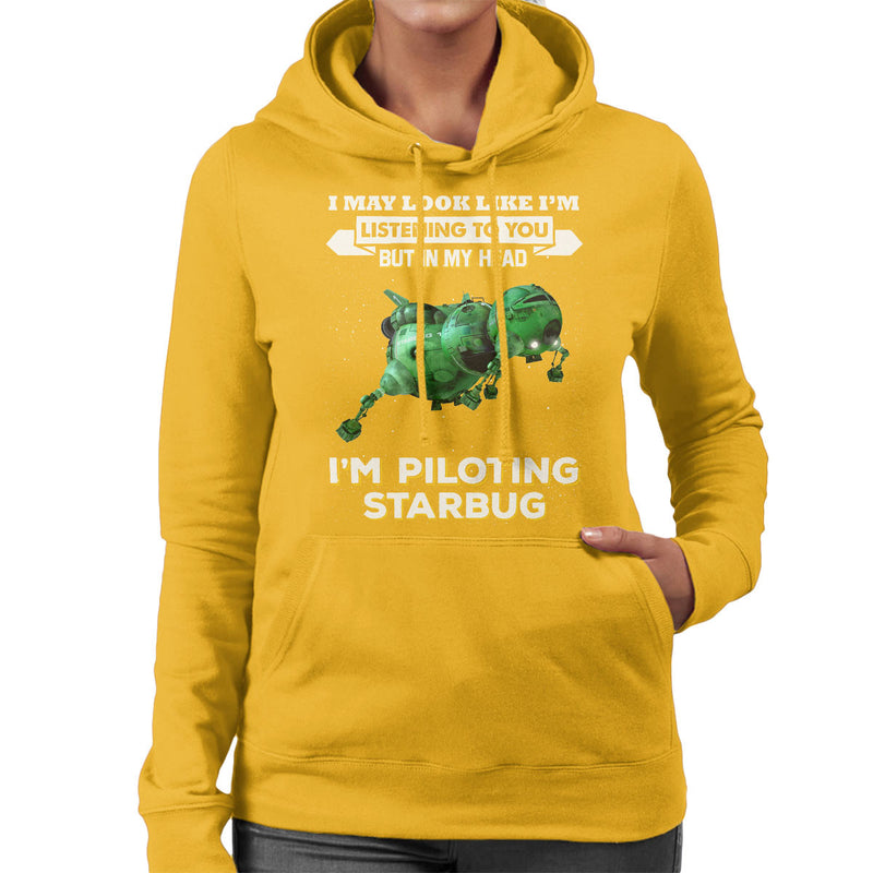 I May Look Like Starbug Red Dwarf Women's Hooded Sweatshirt by Pheasant Omelette - Cloud City 7