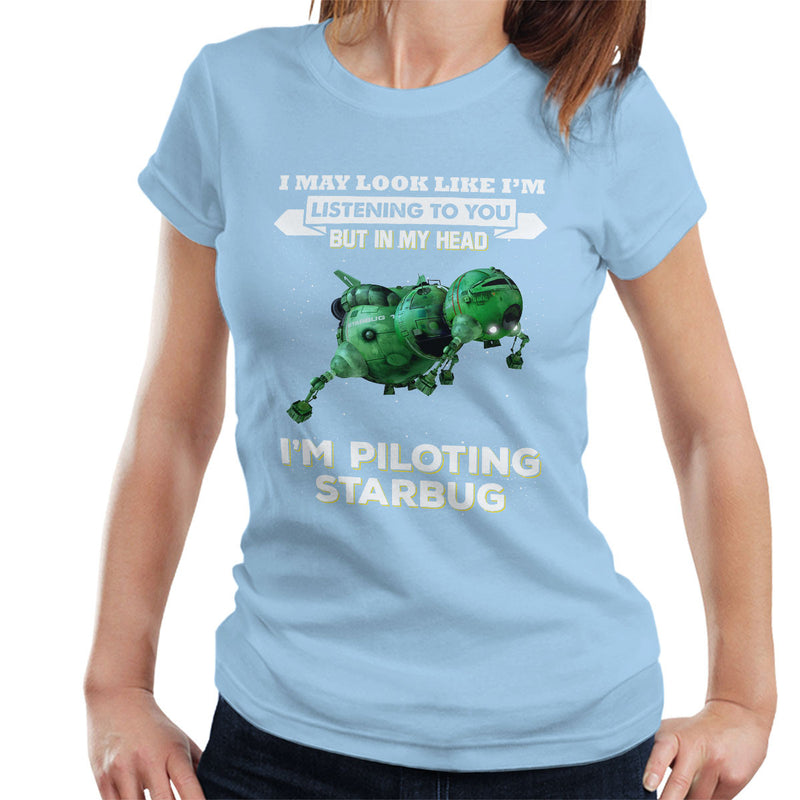 I May Look Like Starbug Red Dwarf Women's T-Shirt by Pheasant Omelette - Cloud City 7