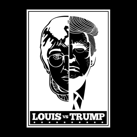 Louis Theroux  Vs Donald Trump Stand Off White