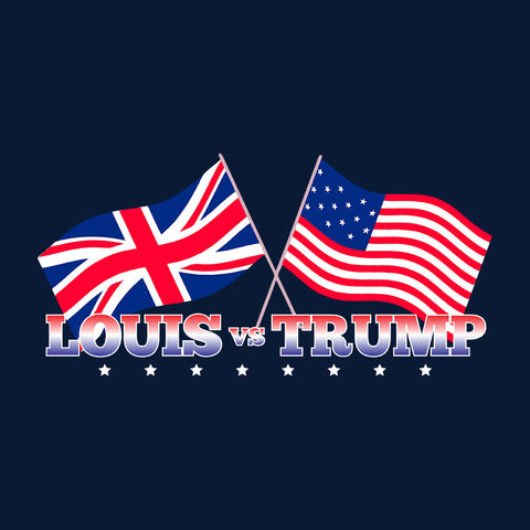 Louis Vs Trump Flags Donald Theroux
