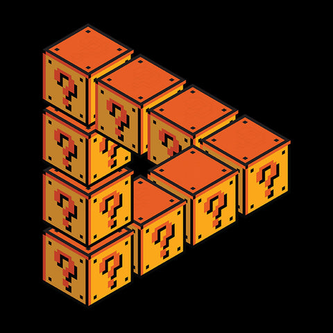 Forever Flatforming Mario Question Blocks