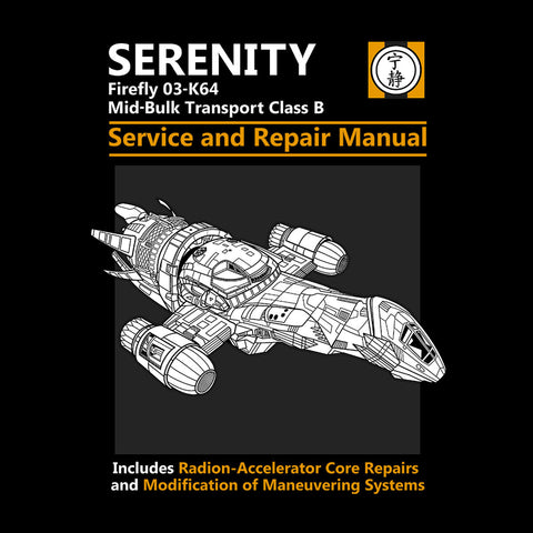Firefly Serenity Service And Repair Manual