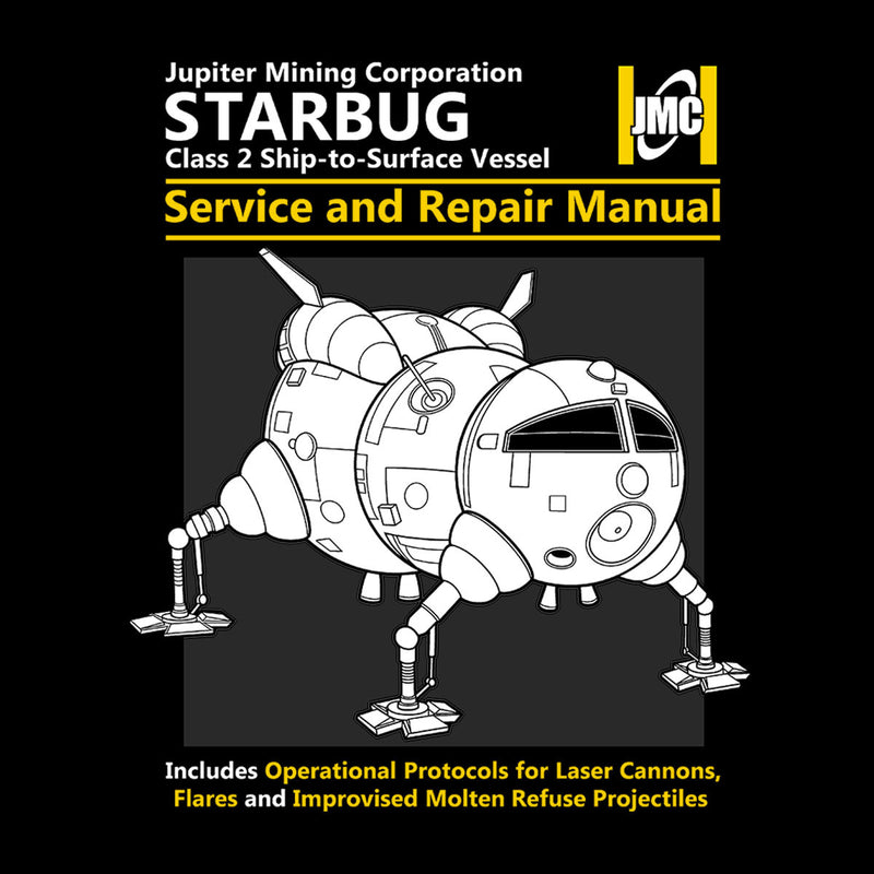 Red Dwarf Starbug Service And Repair Manual by Adho1982 - Cloud City 7