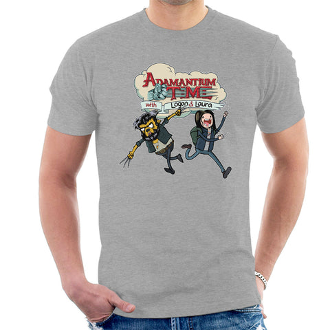Logan Adventure Time Mashup Adamantium Time