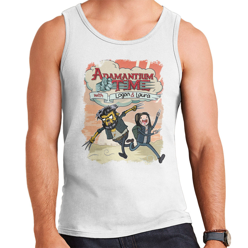 Mashup Logan Adventure Adamantium Background Vest Time Men's 1clFKJ