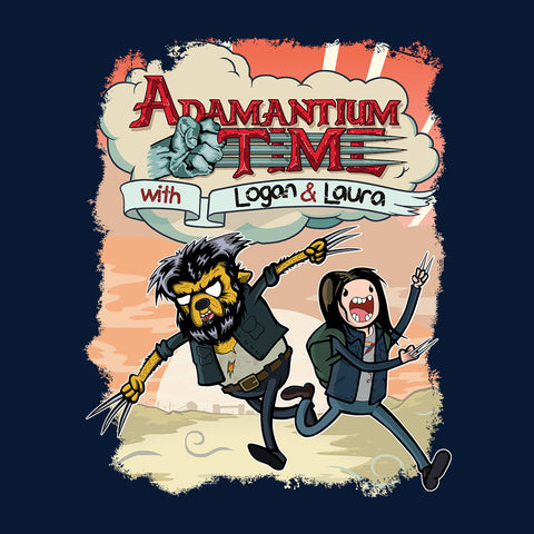 Logan Adventure Time Mashup Adamantium Time Background