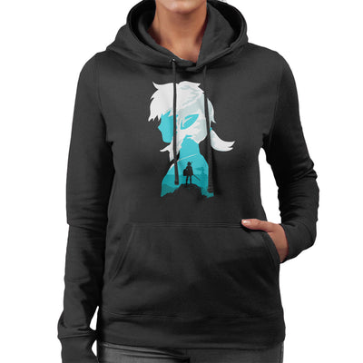 100 Years Later Link Legend Of Zelda Women's Hooded Sweatshirt