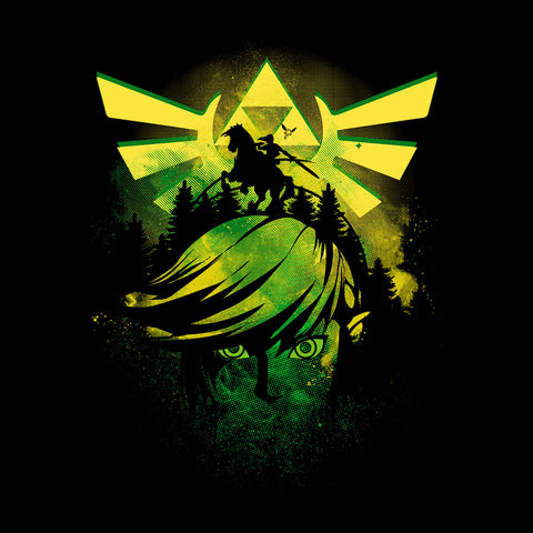 Face Of Hyrule Legend Of Zelda