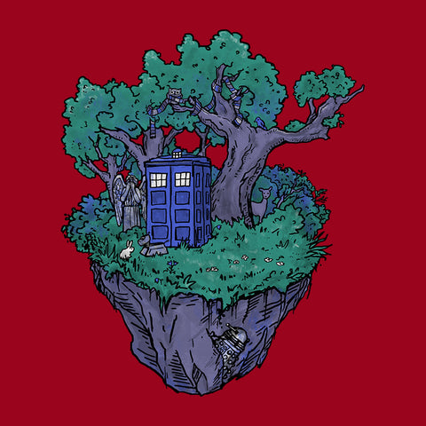 Doctor Who Floating Forest Island