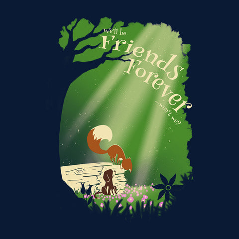 Fox and Hound Friends Forever