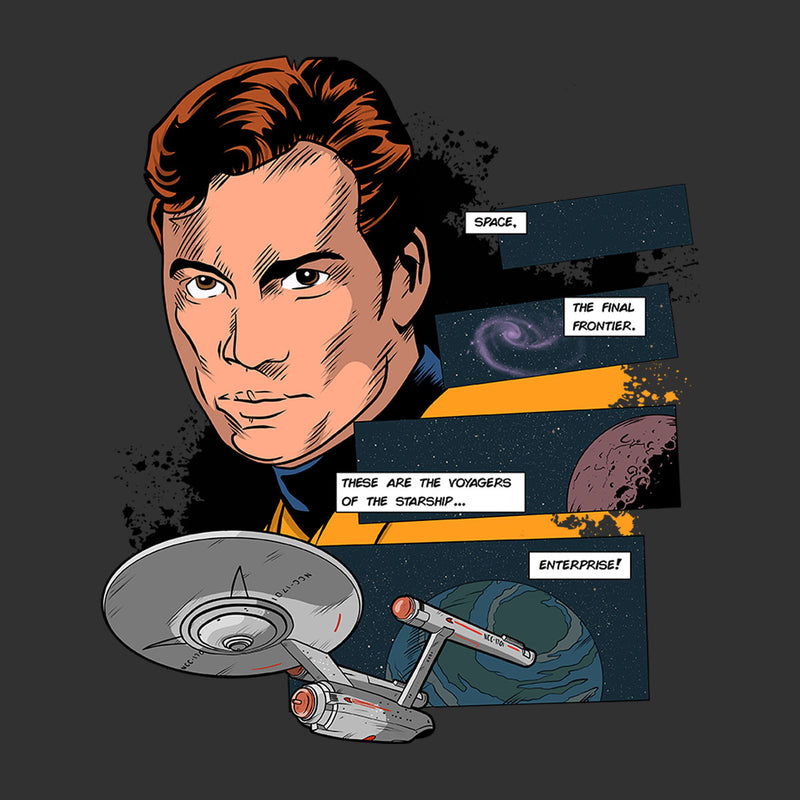 Star Trek These Are The Voyagers Men's T-Shirt by DeMilburn - Cloud City 7