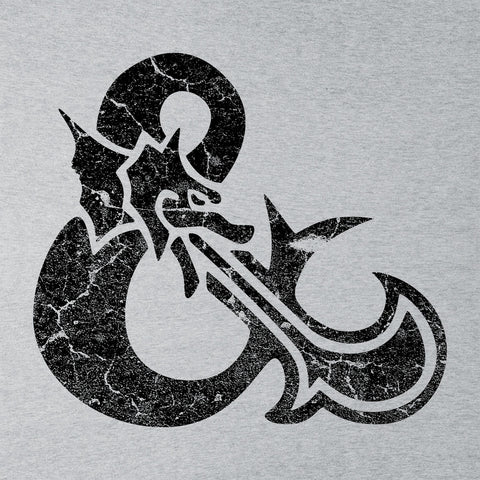 Dungeons And Dragons Symbol Black