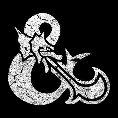 Dungeons And Dragons Symbol White