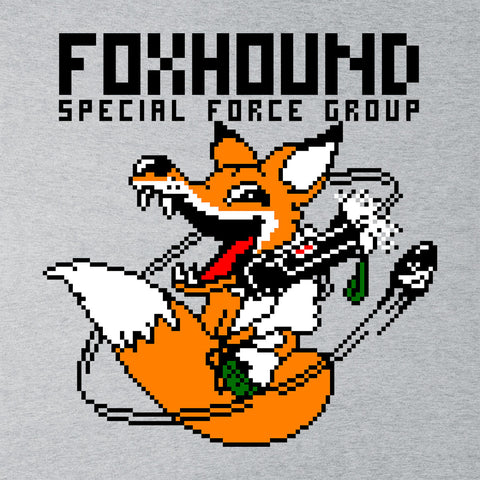 Foxhound Special Forces Metal Gear Solid Black