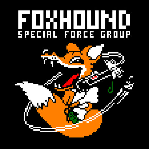 Foxhound Special Forces Metal Gear Solid White