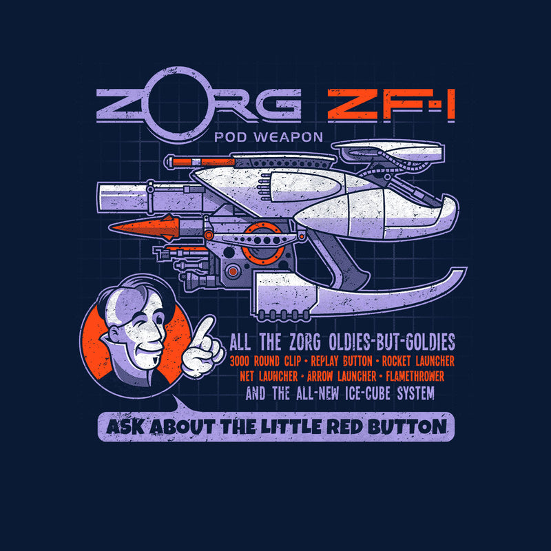 The Fifth Element Zorg Blaster ZF-1 by Adho1982 - Cloud City 7