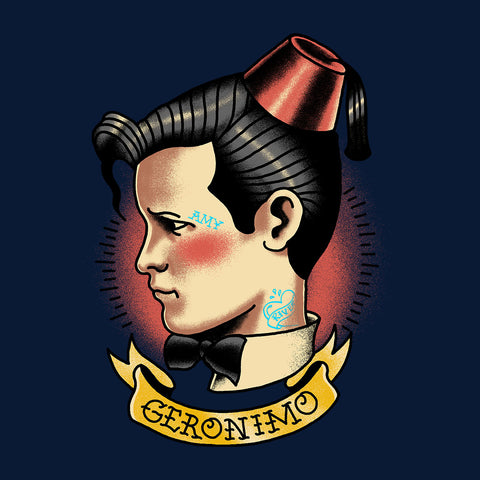11th Doctor Who Tattoo Geronimo