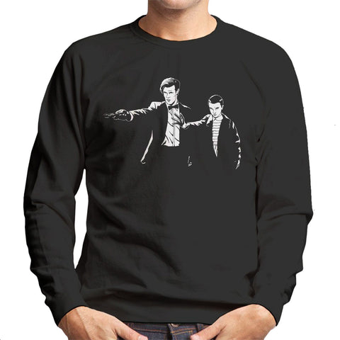 11 Eleven Doctor Who Stranger Things Pulp Fiction Men's Sweatshirt