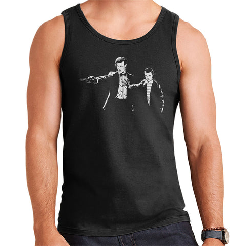 11 Eleven Doctor Who Stranger Things Pulp Fiction Men's Vest