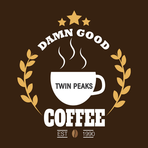 Twin Peaks Damn Good Coffee