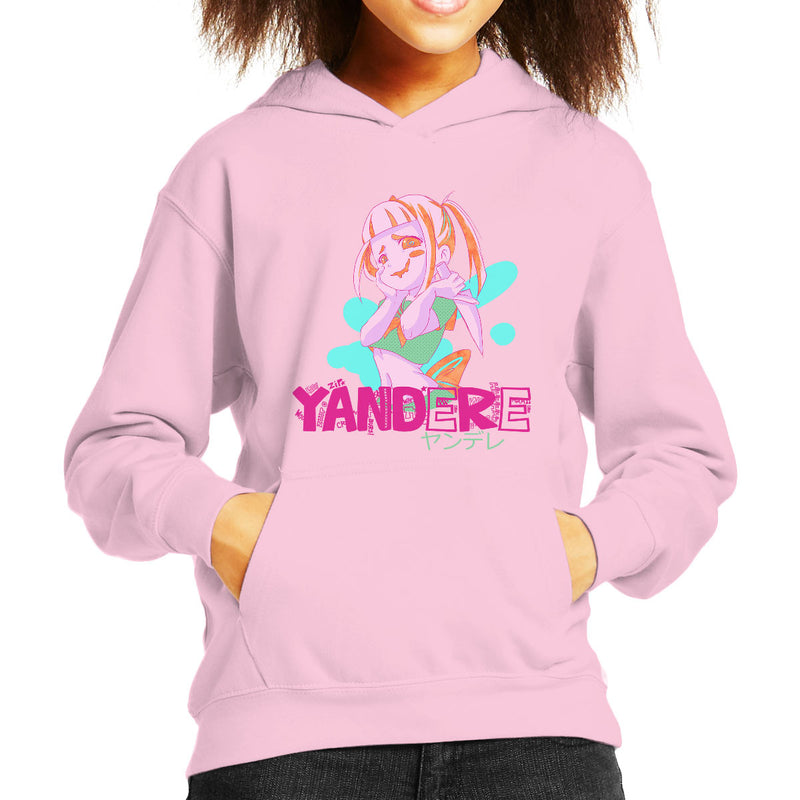 e45ff698f21 ... Yandere Anime Girl Kid s Hooded Sweatshirt by PsychoDelicia - Cloud  City 7